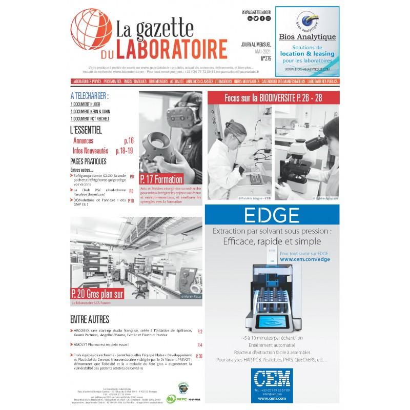 275 - Mai 2021 - la gazette du laboratoire