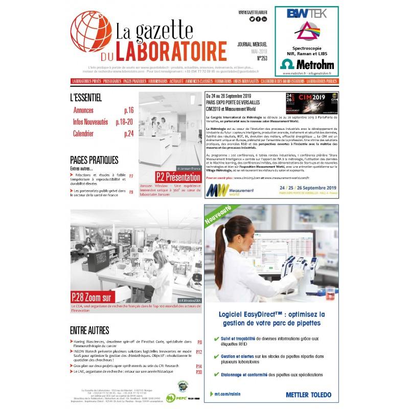 253 - Mai 2019 - la gazette du laboratoire