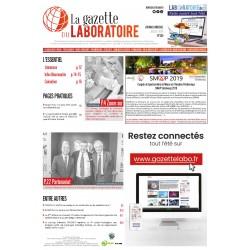 255 - Juillet aout  2019 - la gazette du laboratoire