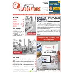 257 - Octobre  2019 - la gazette du laboratoire